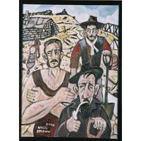 Three Gold Miners
