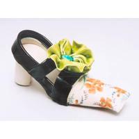 Orange Hibiscus Flower Shoe (2005)