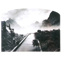 Beneath Bowen Falls To Mitre Peak, Fiordland 2000 (printed 2005) No. 13/20