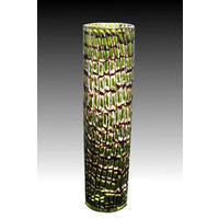 Adventurine Green & Black Murrine Vase (2002)