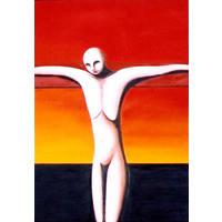 Orange Crucifixion