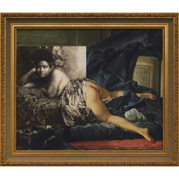 Odalisque (After Boucher)
