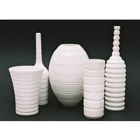 White Grooved Vessels (2006)