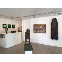 Staging Post: Landscape & Sculpture Exhibition View