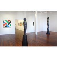 Colour Lattices 1986-2009 Exhibition View