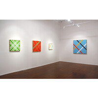 Lattices 1977-2010 Exhibition View