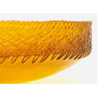 Small Woven Rimmed Bowl #6 (2002)