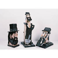 Group of Gold Miner Sculptures (2007)