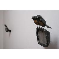 Wing Mirror Robins
