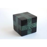 Cube (Black / Green)