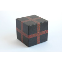 Cube (Black / Red)