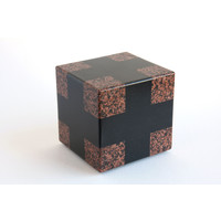 Cube (Red / Black wide)