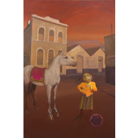 Girl and Horse I (Second Series)