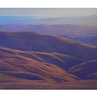 Mt Alexander (Study for The Pass and The Kyeburn)