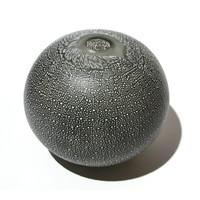 Large Eel Green Murrine Vessel [13504]