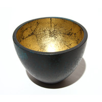 Patinated Bronze Crucible [13519]
