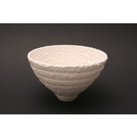 White Textured Bowl MHB13