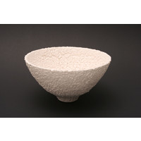 White Textured Bowl MHB14