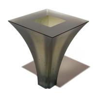 Geometric Vase #2 (Grey)