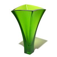Curved Vase (Lime)