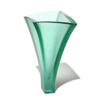 Curved Vase (Pale Jade)
