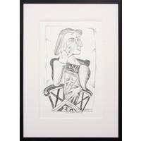 Variation on Picasso's Dora Maar 1937