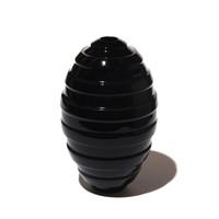 Black Grooved Orb [13-36]