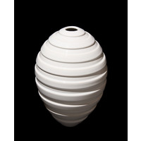 White Grooved Orb [13-38]