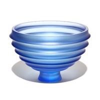 Scallop Bowl #56 (Blue)