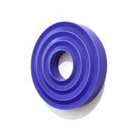 Crystalline Blue Zig-Zag Wall Ring [14-4]