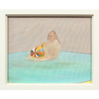 The Beach Ball and a Monkey in a Pool