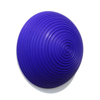 Matt Blue Dome [14-105]