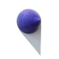 Matt Blue Grooved Cone [14-110]