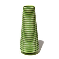 Lime Green Conical Vessel [14-133]