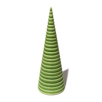 Lime Green Cone [14-140]