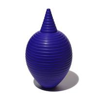 Matt Blue Conical Necked Bottle [14-143]
