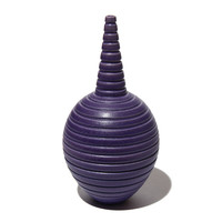 Matt Purple Conical Necked Bottle [14-144]