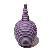 Matt Lilac Conical Necked Bottle [14-150]