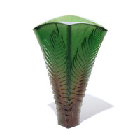 Fern Vase #5 (Capense - Bronze / Green)