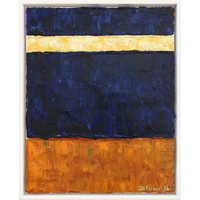 Plain Song: Light Passage - Blue and Orange