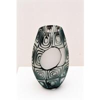 Black Oval - Murrine Vase