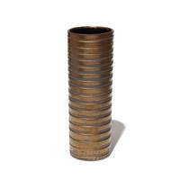 Gold Grooved Cylinder [17-9]