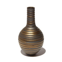 Gold Grooved Vessel [17-16]
