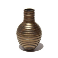 Gold Grooved Vessel [17-19]