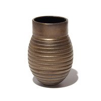 Gold Grooved Vessel [17-37]