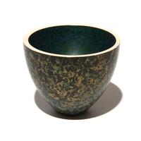 Patinated Bronze Crucible [21466]