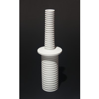 Matt White Grooved Flanged Bottle [18-23]