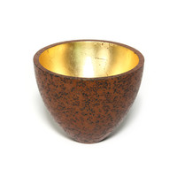 Patinated Bronze Crucible [22106]