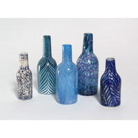 Juxtapose Bottles Set (Blue)