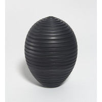 Charcoal Grooved Orb [18-66]